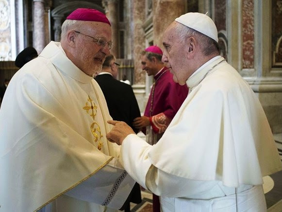 Papa Francisco e D. Anders Arborelius, bispo de Estocolmo