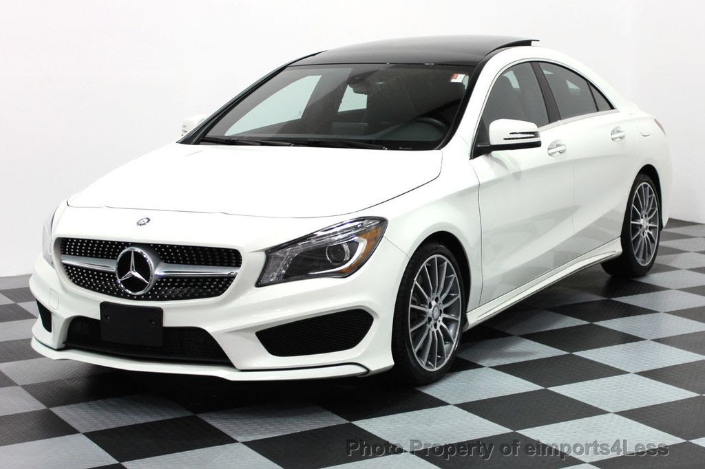 2016 Used Mercedes-Benz CERTIFIED CLA250 4Matic AMG SPORT ...
