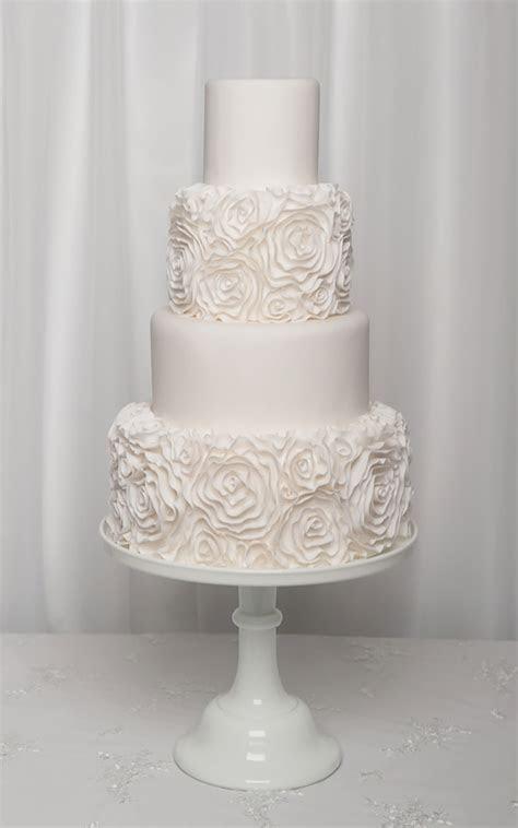 Ruffle wedding cake Liverpool, wedding cakes North West