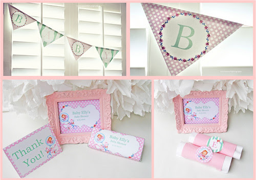 vintage baby shower collection 3
