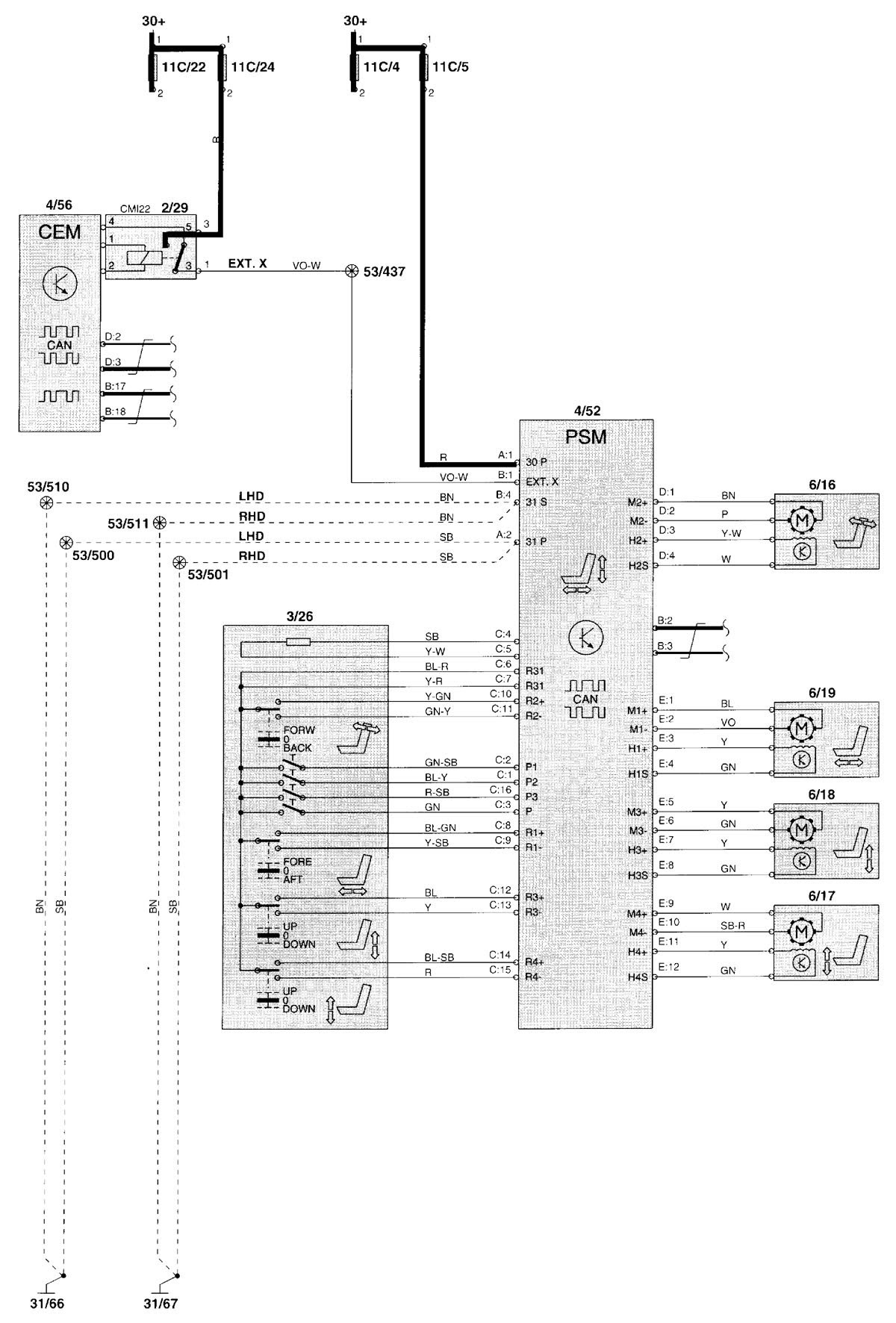 98 V70 Wiring Diagram