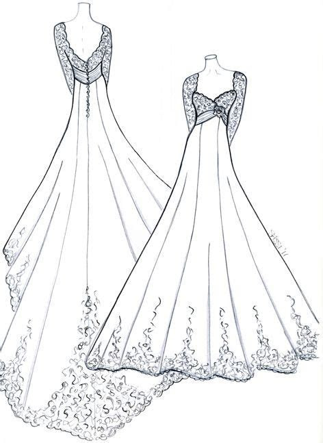 sketches for royal wedding dress inspired design for kate