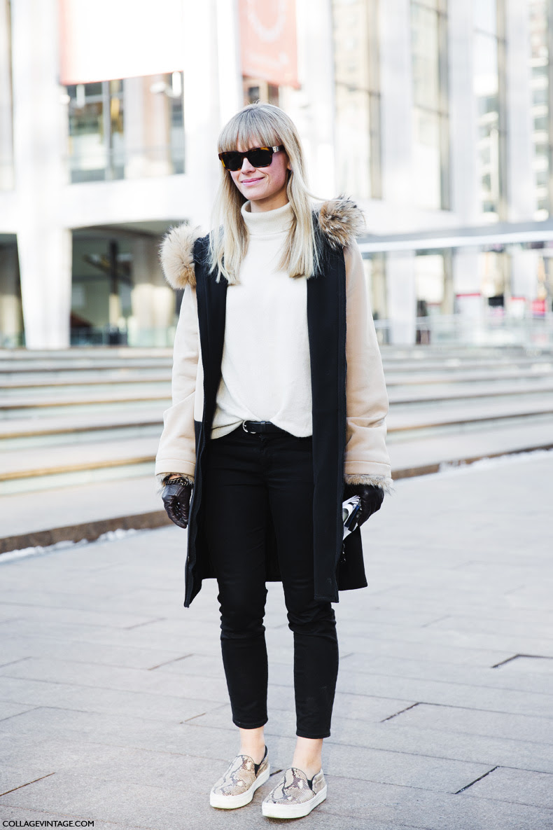 Street Style New York Fashion Week Fall Winter 2014 2015 The Wonderful World Of Fashion