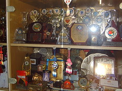 Medals and trophies