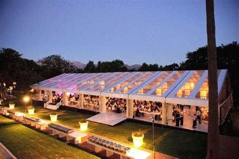 Chattels  Transparent Roof Marquee, Allee Bleue Wedding