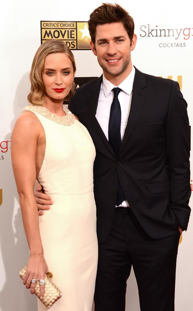 Emily Blunt Loves Working With Her Husband John Krasinski ...