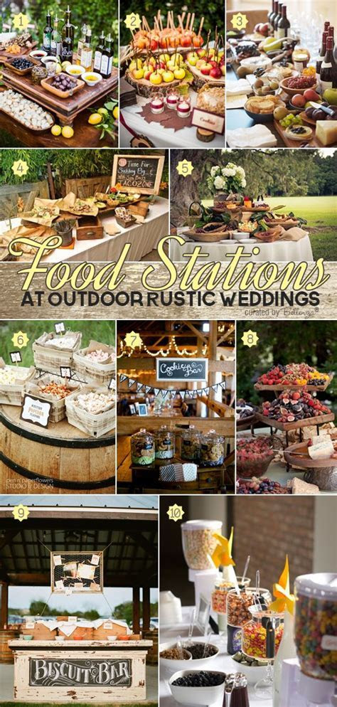 Wedding Food Stations on Pinterest   Food Stations, Unique