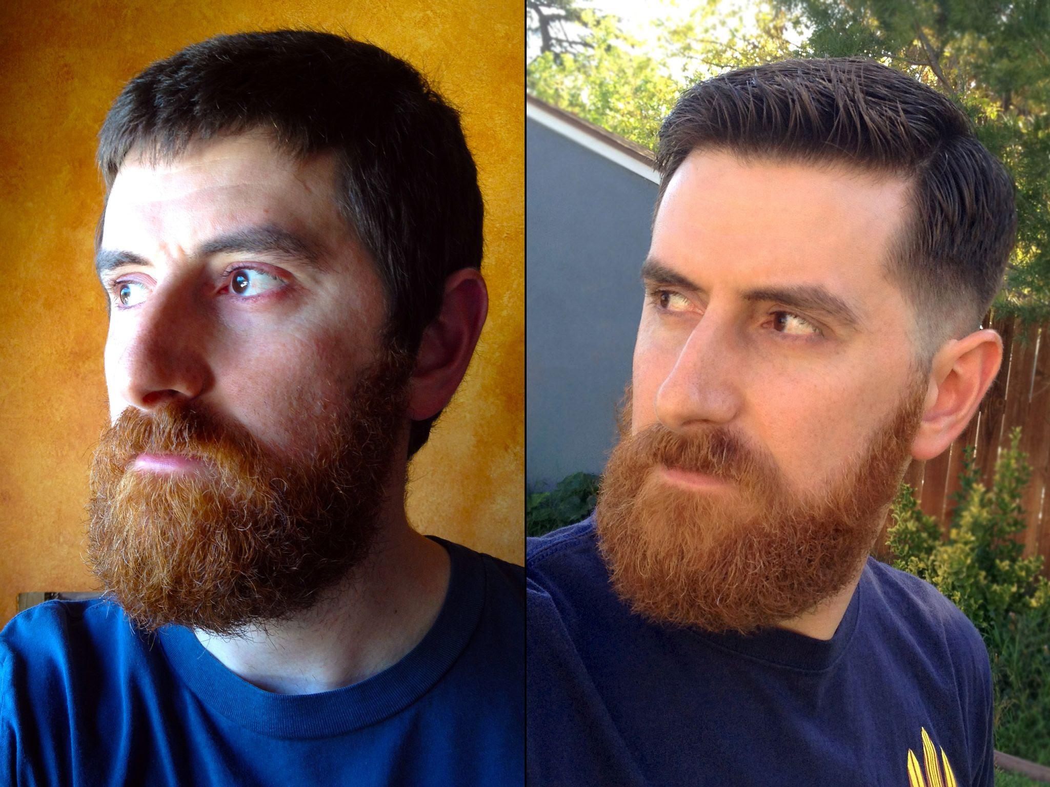 Cool Hairstyle 2014 Dapper Haircut With Beard