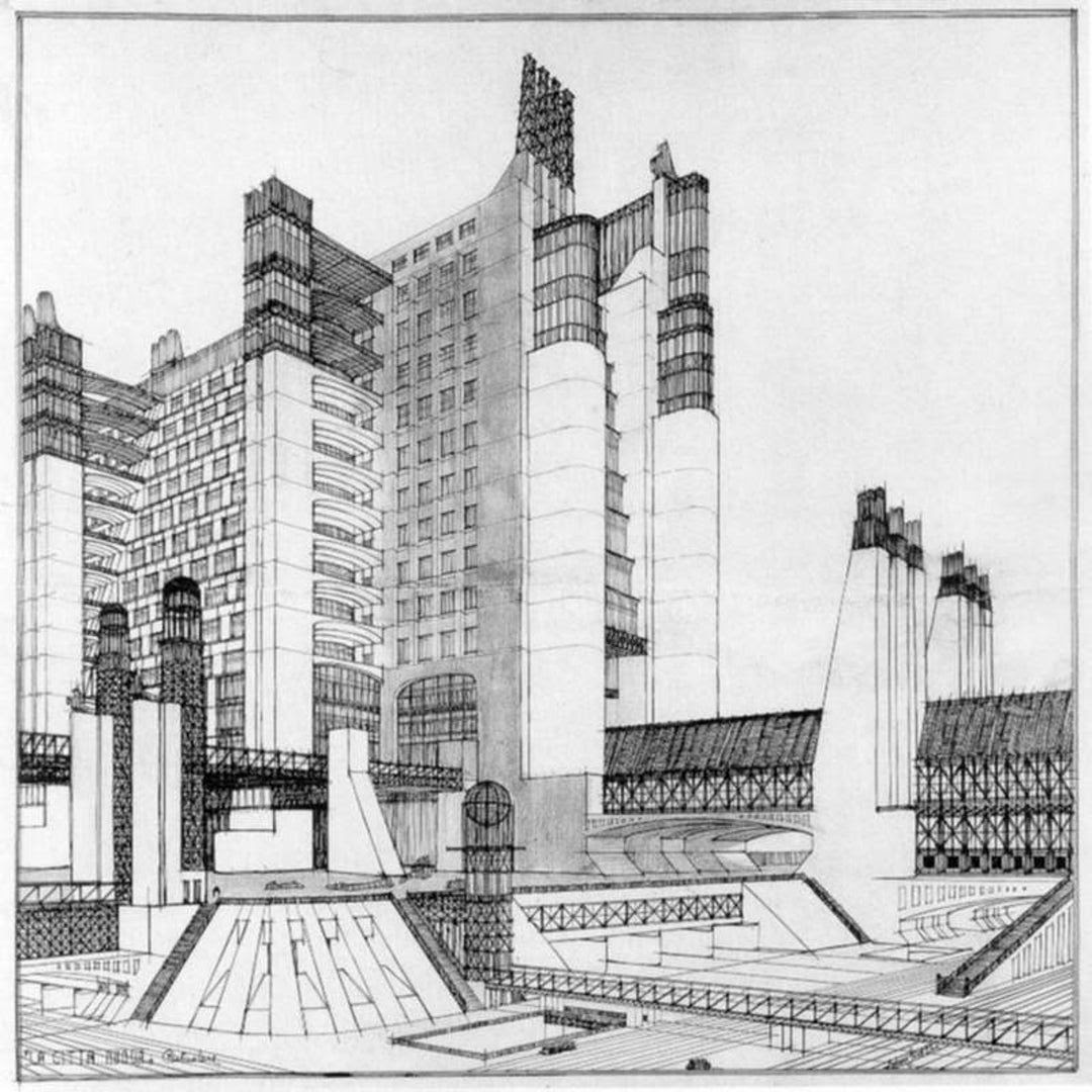 Die Moderne, \u201eModerne Architektur\u201c AEIOU \u00d6sterreich