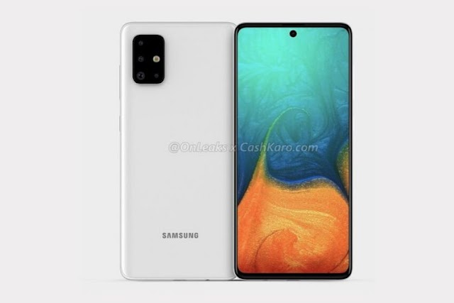 Samsung Galaxy A71 with Punch-hole Display, Quad-Cameras Surfaces Online