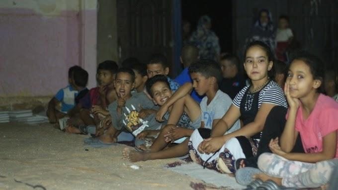 Vacaciones en Paz: Programa de cine infantil en los campamentos saharauis