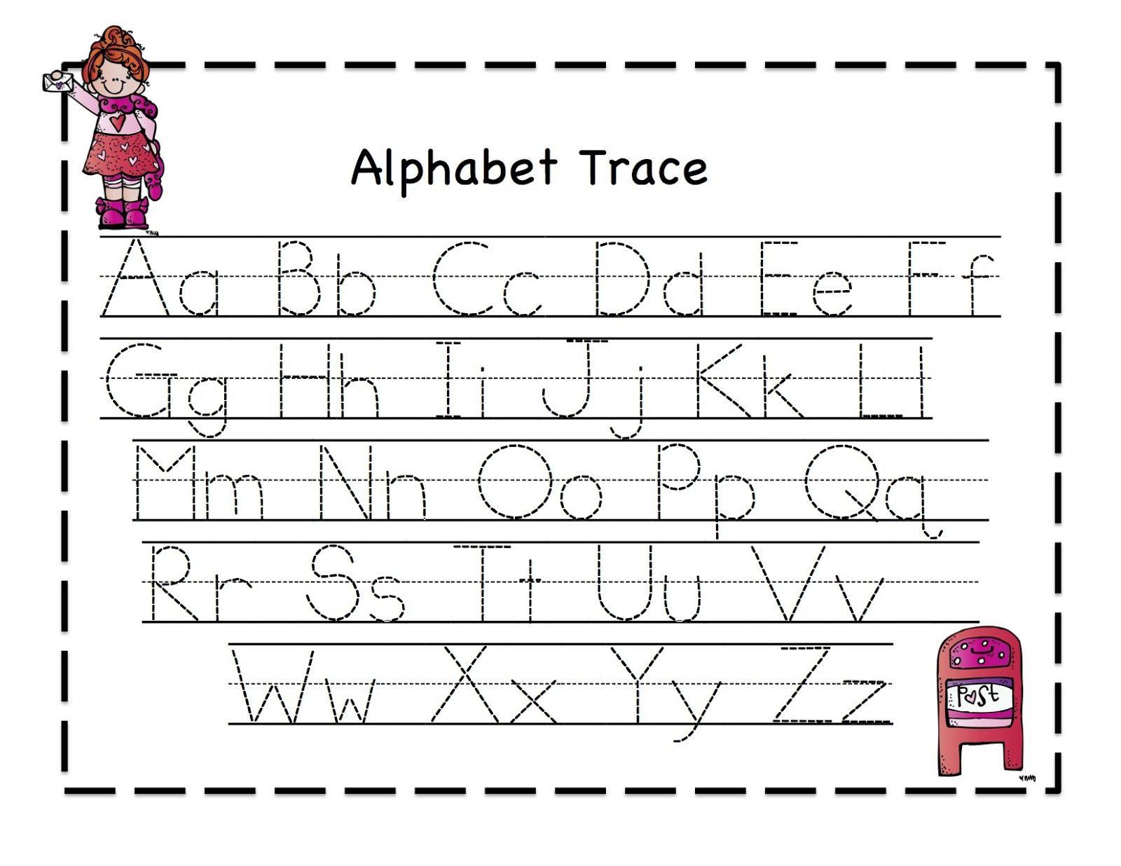 Free Printable Alphabet Tracing - Scalien