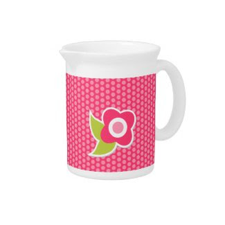 Sweet Spring Collection Pitcher zazzle_pitcher