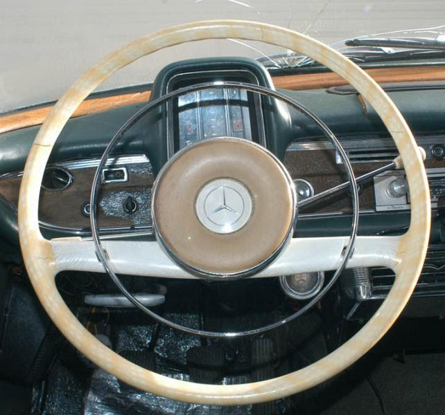 Fintail Steering Wheel - Can it be restored? How?? - PeachParts Mercedes ShopForum
