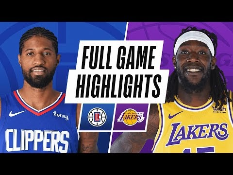 CLIPPERS at LAKERS | FULL GAME HIGHLIGHTS | December 11, 2020