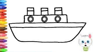 All Clip Of Cara Menggambar Kapal Laut Dengan Mudah Bhclipcom