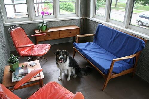 New Danish Style Love Seat