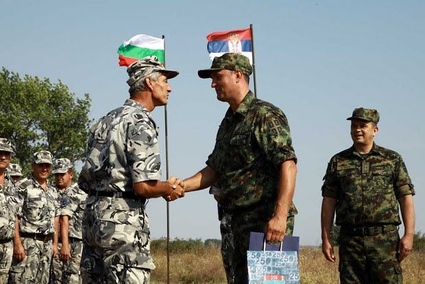 Image result for serbia bulgaria army