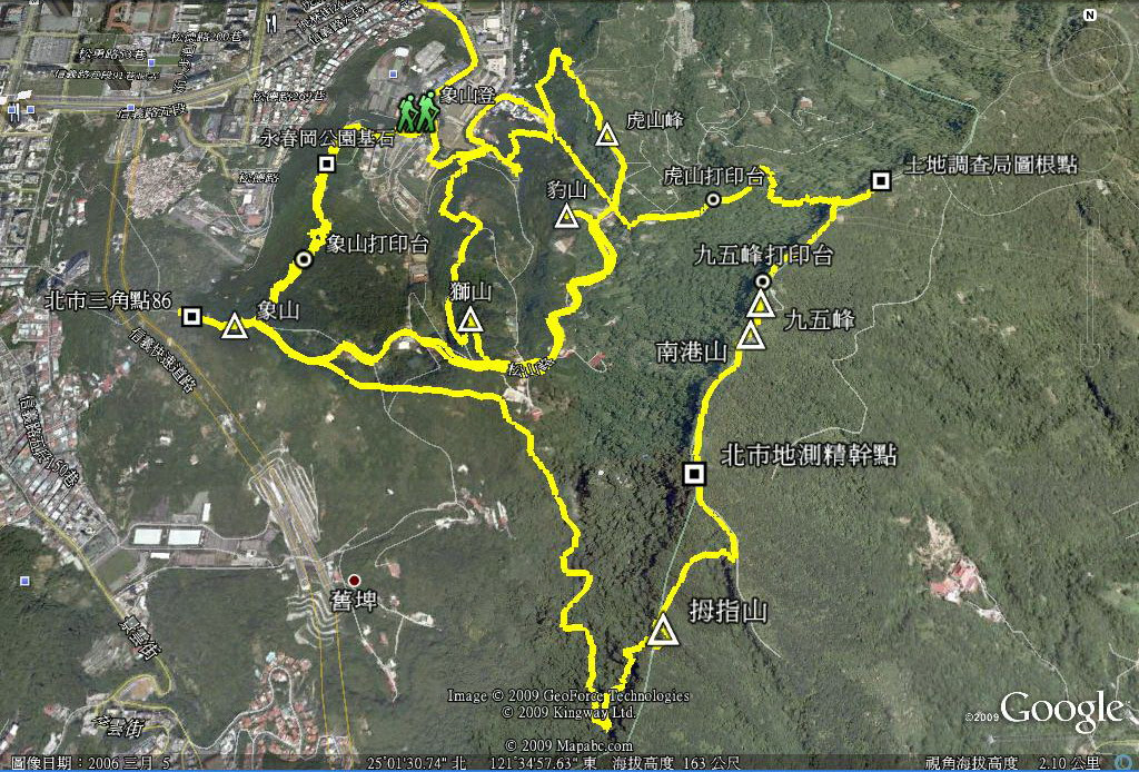 2009.12.05 & 06  四獸山&南港山