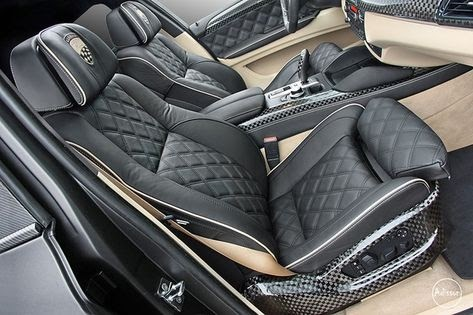 Quilted Car Interior