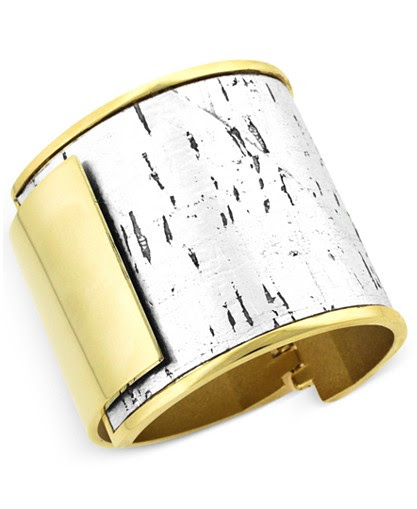 Vince Camuto Metallic Cork Bangle Bracelet