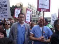 """""""Time To Unite""""UC Unions & Labor Rallies To Demand Rejection of anti-labor UC Regent Crane"""