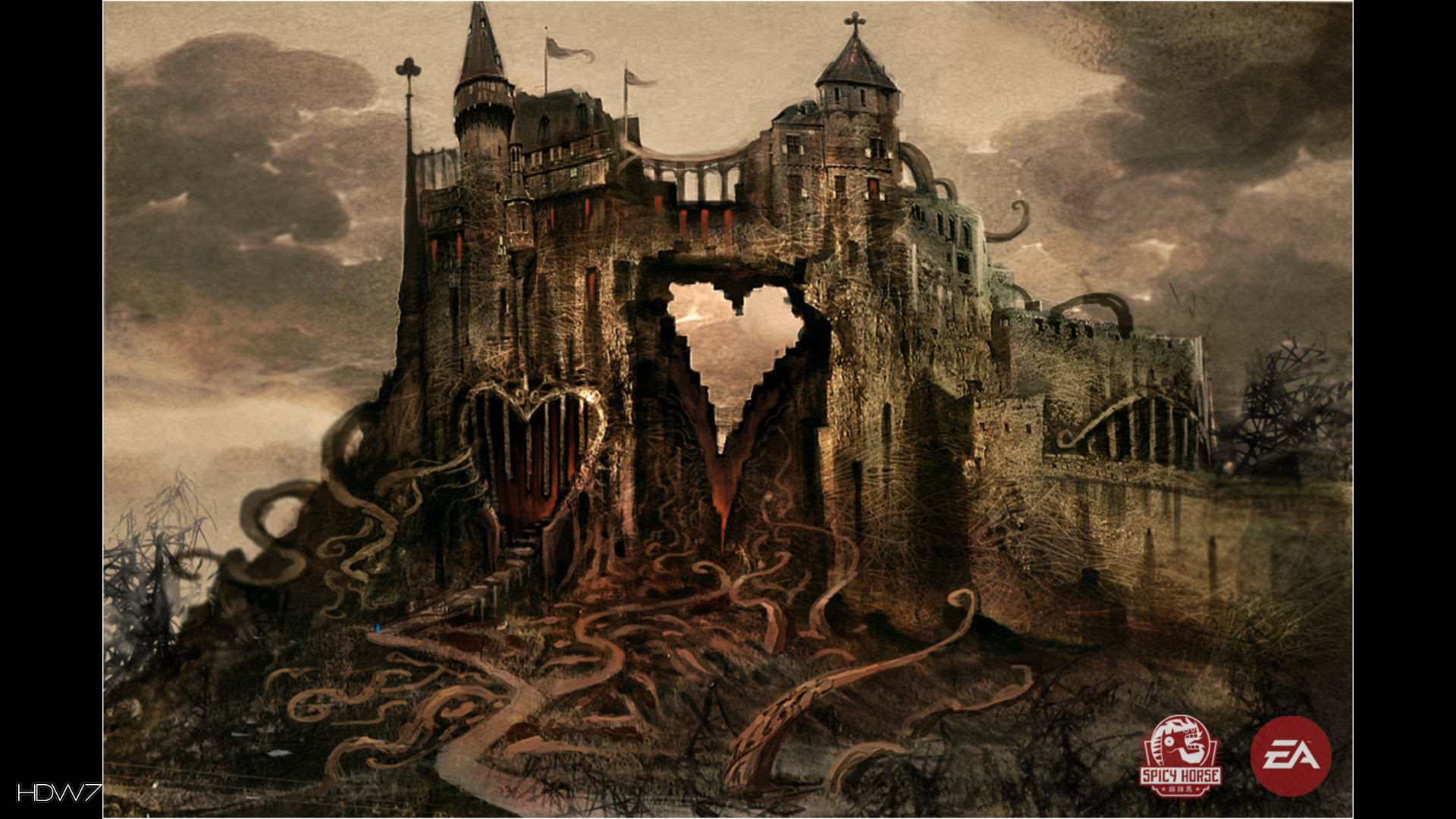 Alice Madness Returns Heart Of The City Widescreen Hd Wallpaper