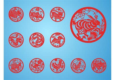 Chinese Zodiac Signs Free Vector Art   (13952 Free Downloads)