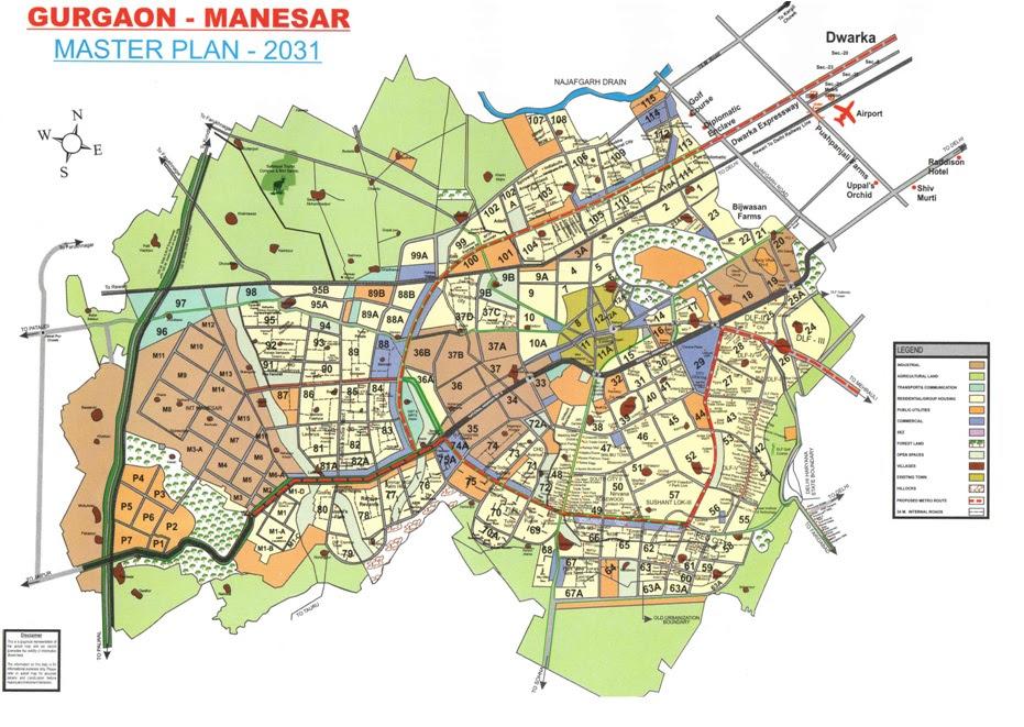 Gurgaon Master Plan Master Plan Gurugram 9650813405