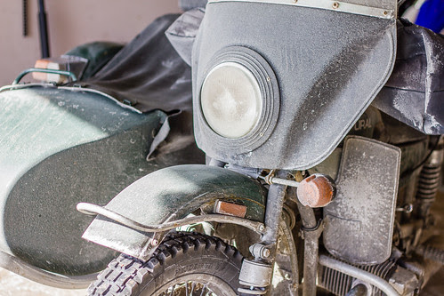 Ural Headlight H4 Bulb Replacement