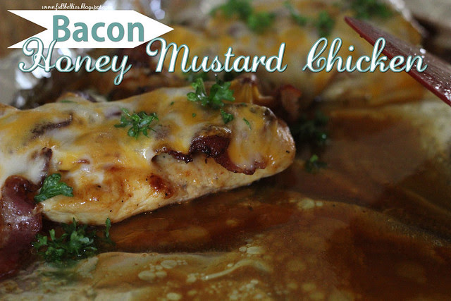 Bacon, Honey Mustard Chicken