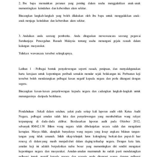 Contoh Pantun Rajin - AA Contoh