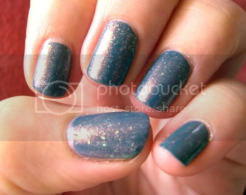 Indian Blue Paillettes