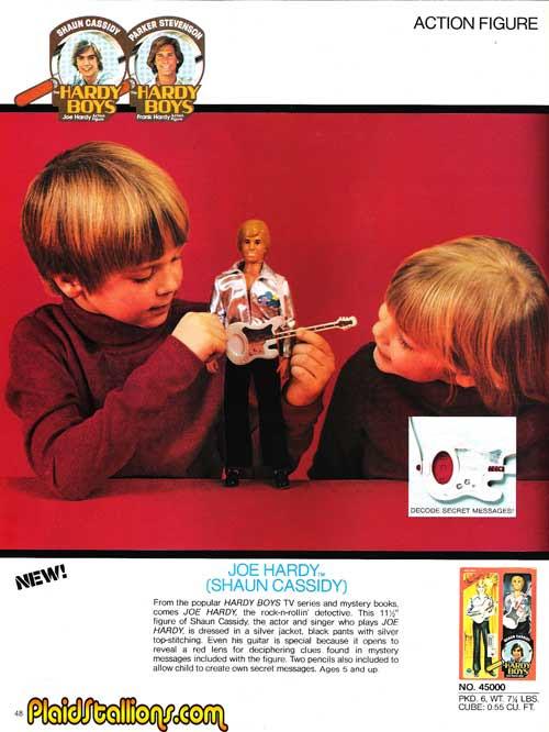 kenner hardy boys dolls