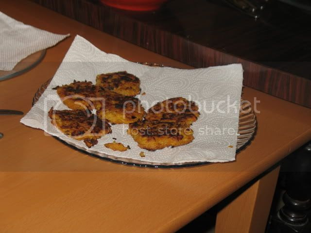 Low fat latkes