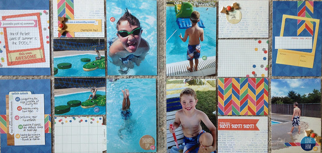 summertime pool fun Elles Studio by Kimberly Crawford