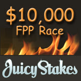 Juicy Stakes Online Poker Room Launches 10,000 FPP Race