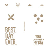Best Day Ever Clear Stamp Set
