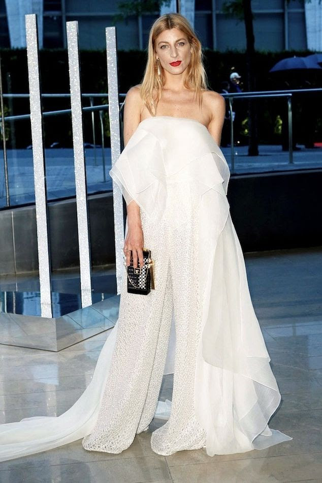 Le Fashion Blog Best Dress 2015 CFDA Awards Ada Kokosar Red Lips White Strapless Drape Top Embellished Wide Leg Pants Via Style Com photo Le-Fashion-Blog-Best-Dress-2015-CFDA-Awards-Ada-Kokosar-Red-Lips-White-Strapless-Drape-Top-Embellished-Wide-Leg-Pants-Via-Style-Com.jpg