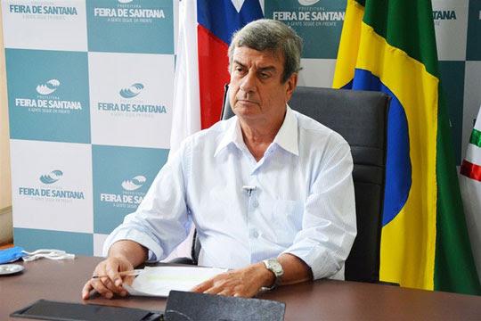 O prefeito de Feira de Santana, Colbert Martins   Foto: Divulgação