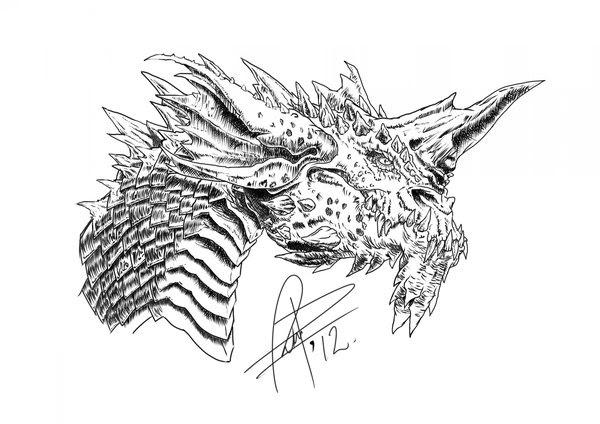Dibujos En Lapiz De Dragones Imagui