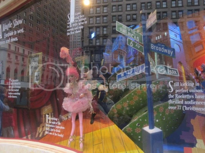 One of the windows at Macy's