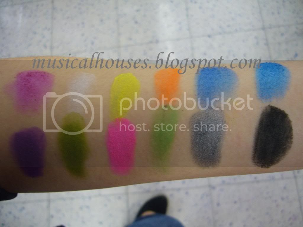 Sleek Acid iDivine Palette Swatch