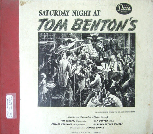 Saturday Night at Tom Benton's