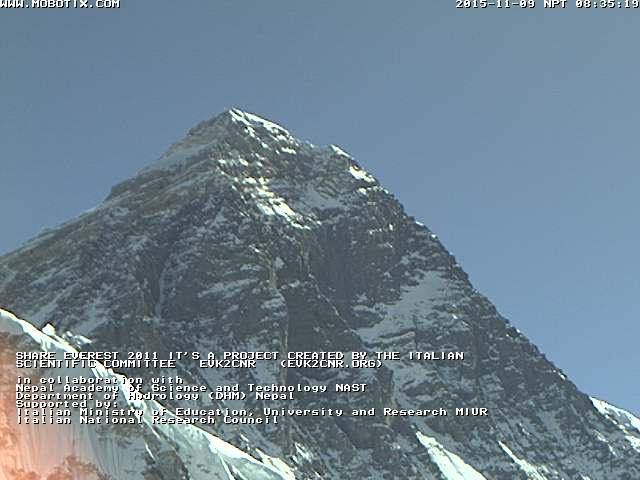 Everest Live, Everest webcam