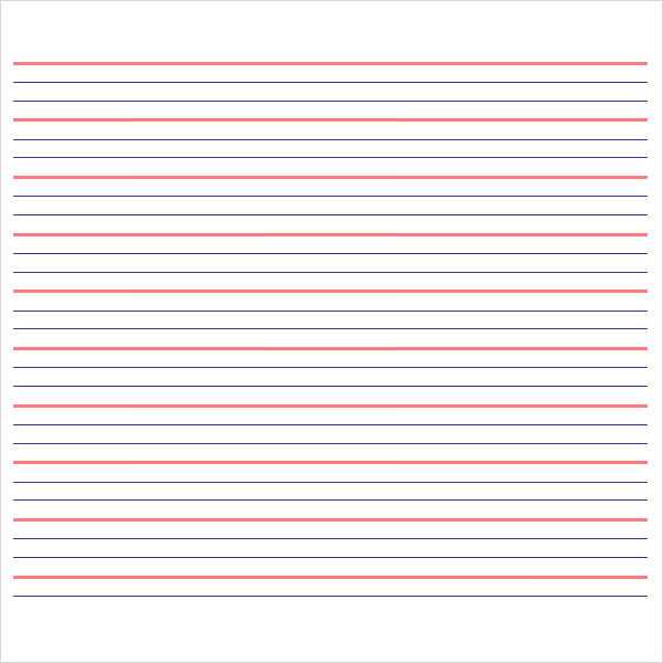Notebook Paper - 9+ Download Documents in PDF