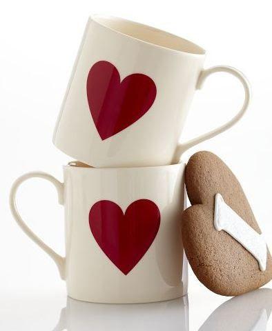 heart mugs #love