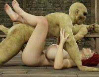 3d Porn Monster