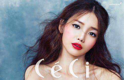 Ha Yeon Soo - Ceci Magazine January Issue '15