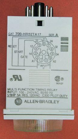 Industrial Motor Control Timing Relays